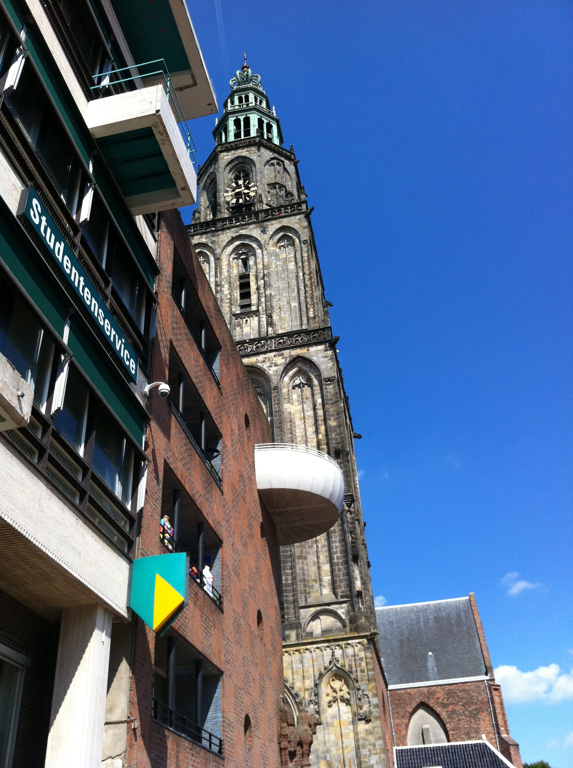 The Martinitoren, a tower in Groningen, NL.