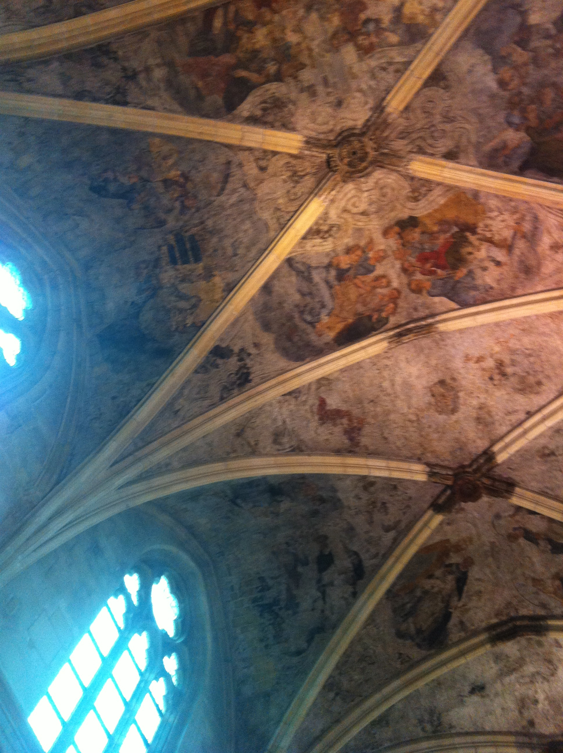 Ceiling of the Dominican bookstore.
