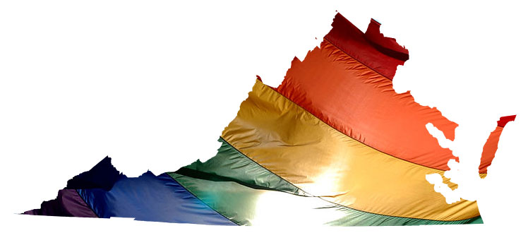 Image from Equality Virginia. Click to sign a letter thanking the couples who challenged the ban.