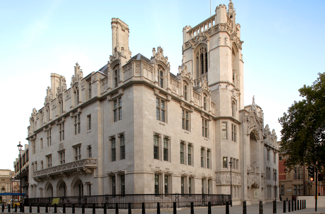 The Supreme Court of the United Kingdom, in London.